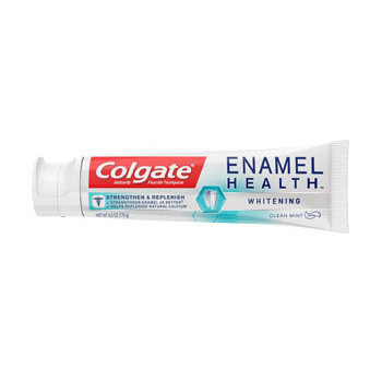 Colgate® ENAMEL HEALTH™ WHITENING Toothpaste Clean Mint