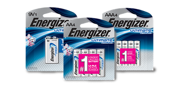 Energizer® Ultimate Lithium™ Batteries