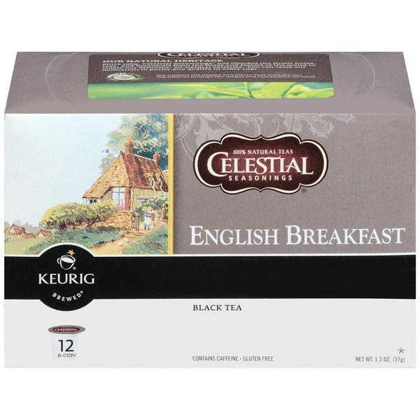 Celestial Seasonings® English Breakfast Black Tea K-Cups