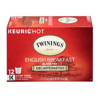 TWININGS® OF London Decaffeinated English Breakfast K-Cup® Pods