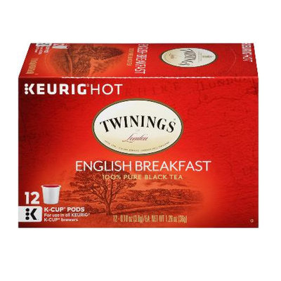 TWININGS® OF London English Breakfast K-Cup® Pods