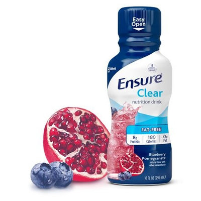 Ensure® Clear Blueberry Pomegranate Nutrition Drink