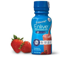 Ensure® Enlive® Strawberry Nutrition Shake