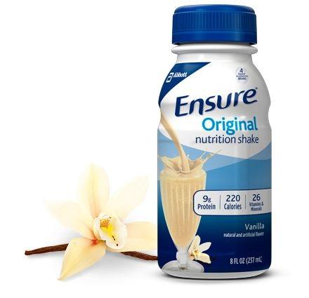 Ensure® Original Vanilla Nutrition Shake
