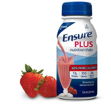Ensure® Plus Strawberry Nutrition Shake