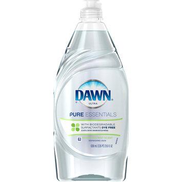 Dawn Pure Essentials Sparkling Mist Scent Dishwashing Liquid