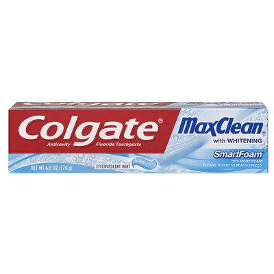 Colgate® MaxClean™ WHITENING SmartFoam® Toothpaste Effervescent Mint