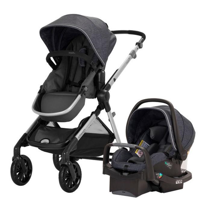 evenflo Pivot Xpand™ Modular Travel System With SafeMax Infant Car Seat