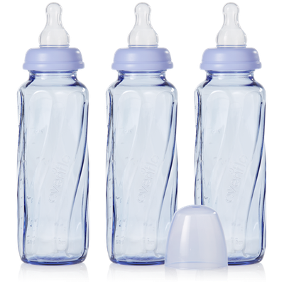 evenflo Vented + Tinted Glass Bottle