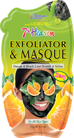 7th Heaven Exfoliator & Masque Black Lava & Orange Peel