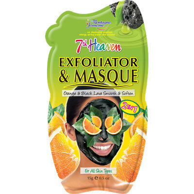 7th Heaven Exfoliator & Masque Black Lava & Orange Peel
