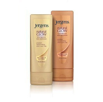 JERGENS® Natural Glow® Express Body Moisturizer One Day