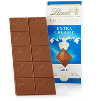 Lindt Excellence Extra Creamy Milk Chocolate