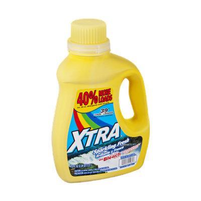 Xtra™ Sparkling Fresh with Alternative Bleach Liquid Laundry Detergent
