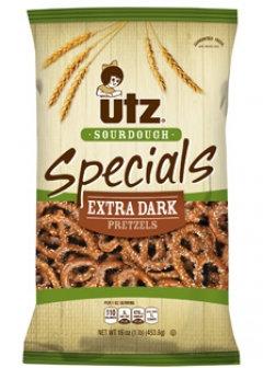 Utz Specials Sourdough Extra Dark Pretzels