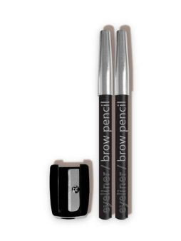 L.A. Colors Eyeliner/Brow Pencils With Sharpener