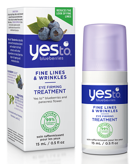 Yes To Blueberries Fine Lines & Wrinkles Eye Firming Treatment