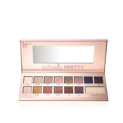 IT Cosmetics® Naturally Pretty Matte Luxe Transforming Eyeshadow Palette