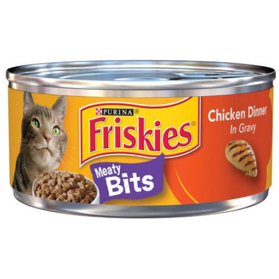 Friskies® Chicken Dinner In Gravy Meaty Bits Cat Food