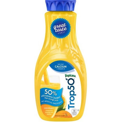 Tropicana® Trop50 No Pulp Calcium + Vitamin D
