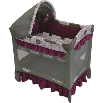 Graco Travel Lite Portable Crib with Stages, Nyssa