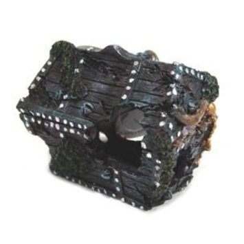 Penn-Plax Treasure Chest Ornament Small