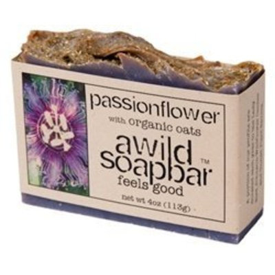 A Wild Soap Bar Passionflower Soap