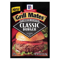 McCormick Grill Marn Steakhouse Burger Classic 0.87oz