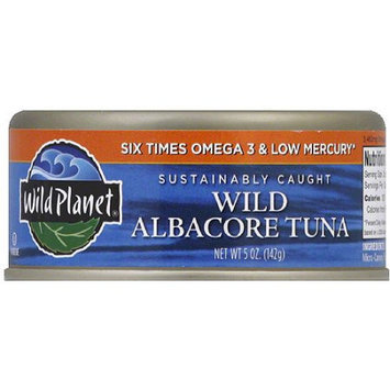 Wild Planet Wild Albacore Tuna, 5 oz (Pack of 12)