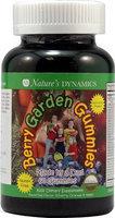 Natures Dynamics BGG 60ct Assrt Gummy Berry Garden Assorted Gummies, 60 Count