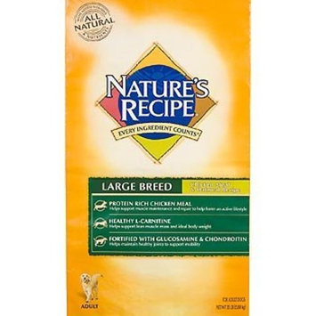 Natures Recipe Nature's Recipe Large Breed Adult Dry Dog Food, 35-Pound