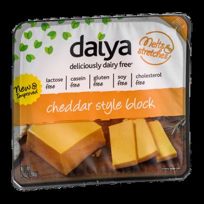 Daiya Deliciously Dairy Free Cheddar Style Block