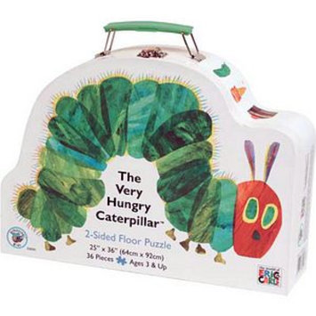 BePuzzled The Very Hungry Caterpillar 2-Sided Floor Puzzle Ages 3+