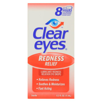 Clear Eyes Eye Drops - Redness Relief, 0.5 oz