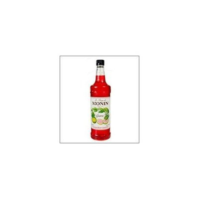Monin Flavored Syrup, Guava, 33.8-Ounce Plastic Bottle (1 liter)