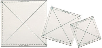 Quilt In A Day Inc. Quilt In A Day Fussy Cut Ruler 3 Pieces