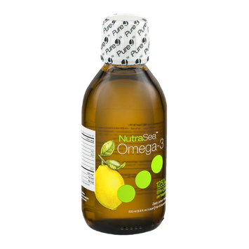 NutraSea Omega-3 Supplement Zesty Lemon