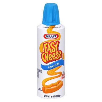 Easy Cheese Kraft  American Cheese 8 oz