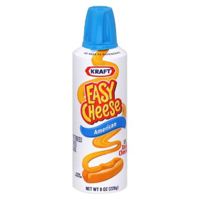 Easy Cheese Kraft  American Cheese 8 oz