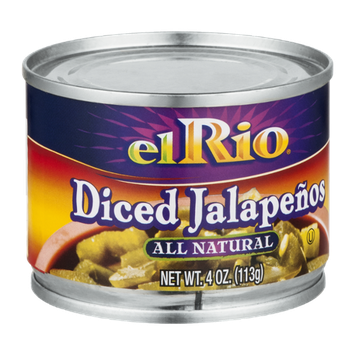 El Rio All Natural Diced Jalapenos