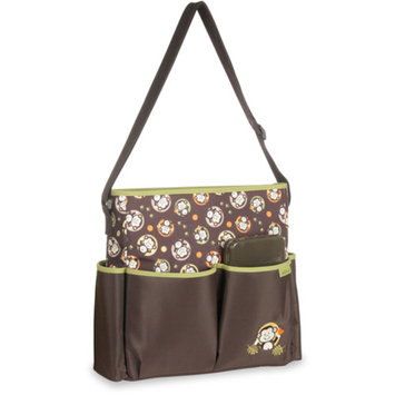 3-Piece Tote Diaper Bag with Wipes Case and Changing Pad, Available in Multiple Patterns