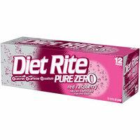 Diet Rite Pure Zero Red Raspberry Soda