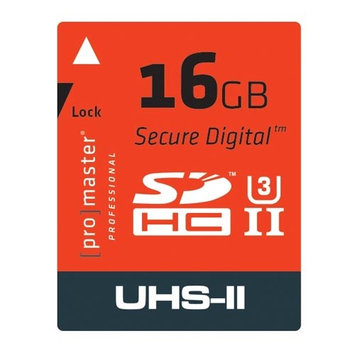 ProMaster 16GB SDHC UHS-II Professional Memory Card