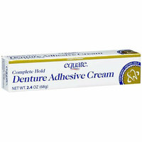 Equate Complete Hold Denture Adhesive Cream