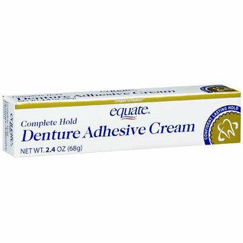 Equate Complete Hold Denture Adhesive Cream