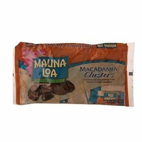 Mauna Loa Macadamia Clusters Candy, 8-Ounce bag