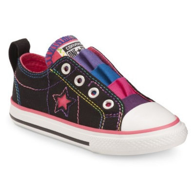 Toddler Girl's Converse One Star Sneakers - Fancy Black 9