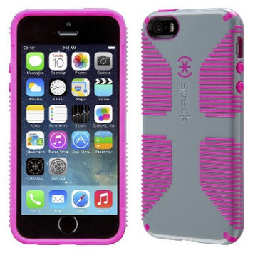 Speck Products Speck CandyShell Grip Cell Phone Case for iPhone 5/5s - Grey/Pink