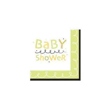 Creative Converting 152790 Stroller Fun Lunch Napkins