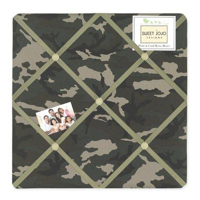 Sweet Jojo Designs Camo Green Collection Memo Board